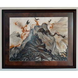 'Creation' (framed)