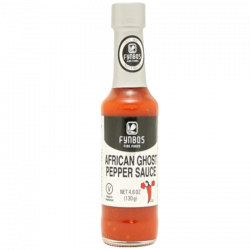 African Ghost Pepper Sauce